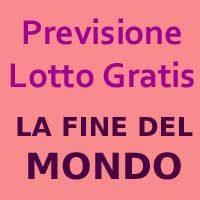 Previsione Della Fine Del Mondo – Valida Fino Al 14 Gennaio (Chiusa -)