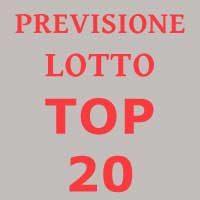Previsione Lotto Top 20 (Chiusa +)